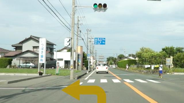 掛川IC方面からのアクセス